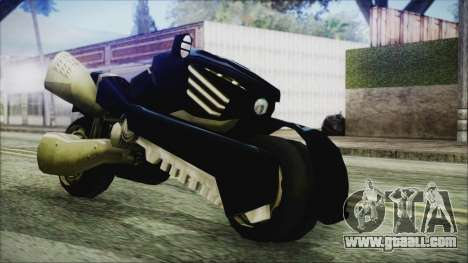 FF7AC Bike for GTA San Andreas back left view