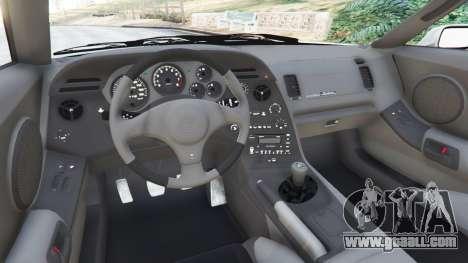 GTA 5 Toyota Supra JZA80 v1.1 right side view