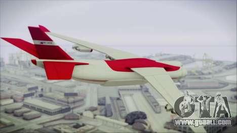 GTA 5 Cargo Plane for GTA San Andreas left view