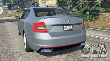 GTA 5 Skoda Octavia VRS 2014 [hatchback] rear left side view