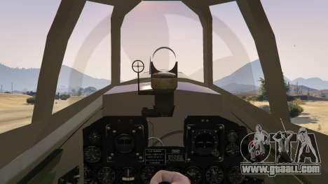 GTA 5 P-47D Thunderbolt fourth screenshot