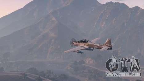 Embraer A-29B Super Tucano House for GTA 5