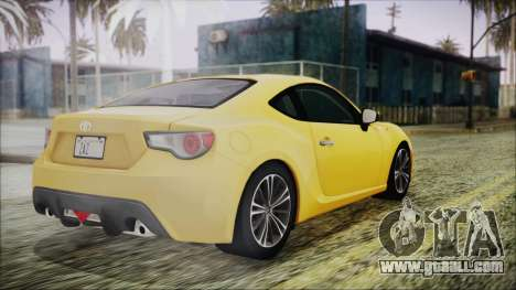 Toyota GT86 (ZN6) 2012 HD Algeria PJ for GTA San Andreas left view