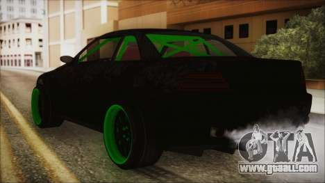 GTA 5 Sentinel RS for GTA San Andreas left view