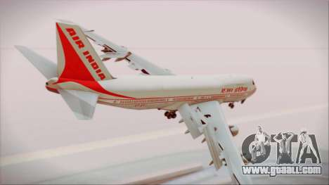 Boeing 747-237Bs Air India Chandragupta for GTA San Andreas left view