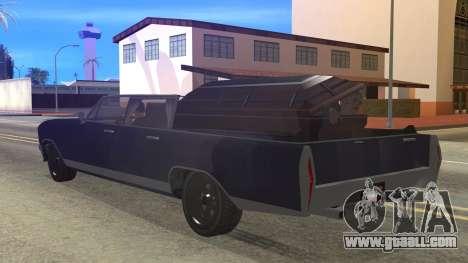 GTA 5 Albany Lurcher Cabrio Style for GTA San Andreas left view