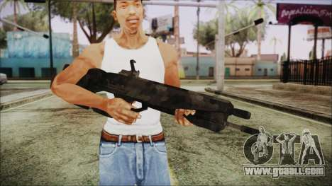 Cyberpunk 2077 Rifle Camo for GTA San Andreas third screenshot