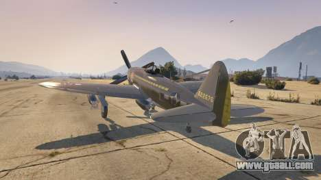 GTA 5 P-47D Thunderbolt second screenshot