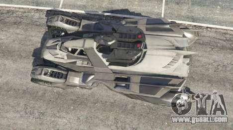 GTA 5 Batmobile Mk2 v0.9 back view