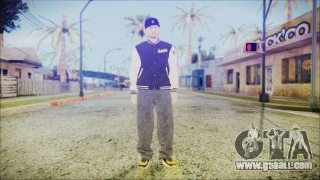 GTA Online Skin 57 for GTA San Andreas second screenshot