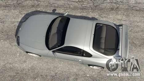 GTA 5 Toyota Supra JZA80 v1.1 back view