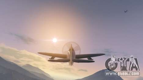 GTA 5 P-47D Thunderbolt fifth screenshot