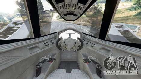GTA 5 Batmobile Mk2 v0.9 rear right side view