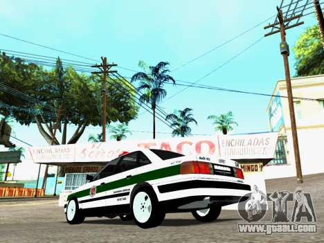 Audi 100 C4 1995 Police for GTA San Andreas left view
