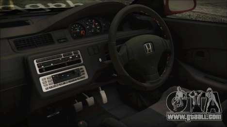 Honda Civic EG6 Hellaflush for GTA San Andreas right view