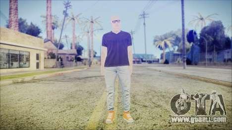 GTA Online Skin 55 for GTA San Andreas second screenshot