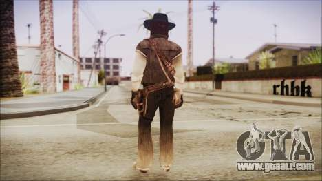 John Marston from Red Dead Redemtion for GTA San Andreas third screenshot