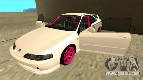 Honda Integra Drift for GTA San Andreas side view