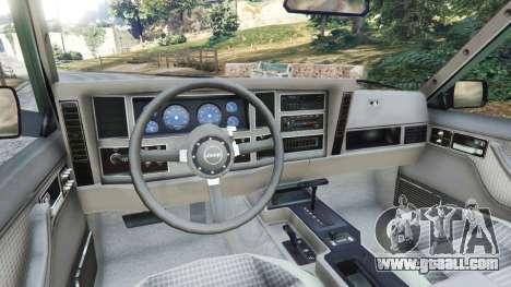 Jeep Cherokee XJ 1984 [Beta] for GTA 5