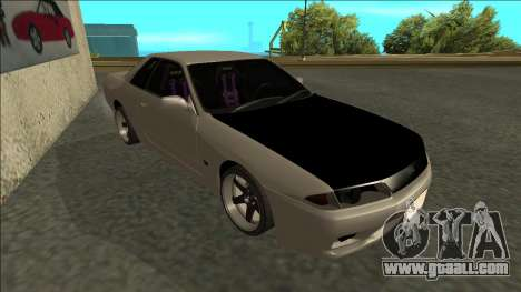 Nissan Skyline R32 Drift for GTA San Andreas left view