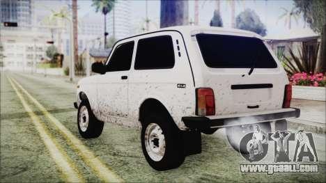VAZ 2121 Niva for GTA San Andreas left view