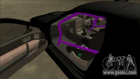 Mazda RX-7 FC Drift for GTA San Andreas upper view