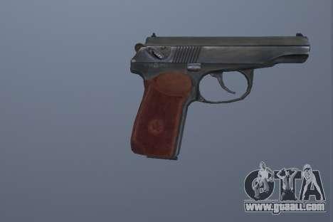 The Makarov Pistol for GTA San Andreas second screenshot