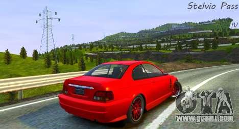 Stelvio Pass Track for GTA 4 second screenshot