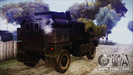 Cougar MRAP 4x4 for GTA San Andreas left view