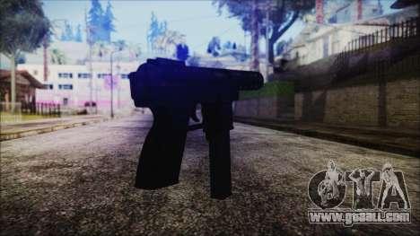 TEC-9 Tiger Stripe for GTA San Andreas second screenshot