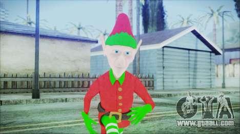 Christmas Elf v1 for GTA San Andreas