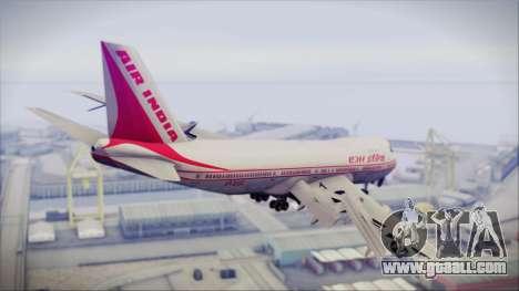 Boeing 747-237Bs Air India Harsha Vardhan for GTA San Andreas left view