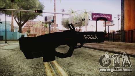 Cyberpunk 2077 Rifle Police for GTA San Andreas second screenshot
