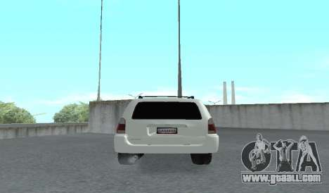 Toyota 4runner 2008 semi-off_road LED for GTA San Andreas right view