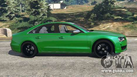 GTA 5 Audi S8 Quattro 2013 left side view