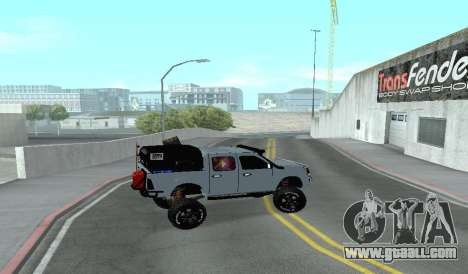 Chevrolet Luv D-MAX 2015 OFF-ROAD ALL-TERRAIN for GTA San Andreas left view
