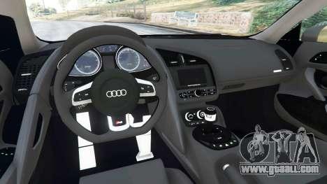 GTA 5 Audi R8 Quattro right side view