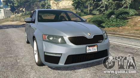 Skoda Octavia VRS 2014 [hatchback] for GTA 5