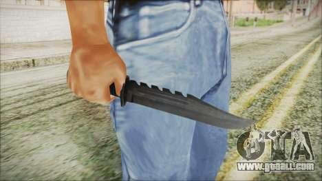 GTA 5 Knife v2 - Misterix 4 Weapons for GTA San Andreas