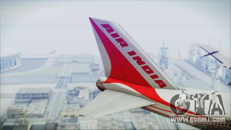 Boeing 747-237Bs Air India Harsha Vardhan for GTA San Andreas back left view