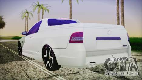 Holden Commodore SS Ute 2012 for GTA San Andreas left view