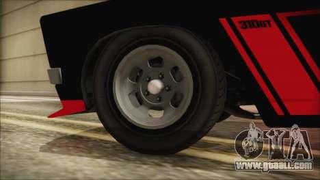 GTA 5 Declasse Tampa IVF for GTA San Andreas back left view