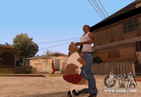 To call a prostitute for GTA San Andreas
