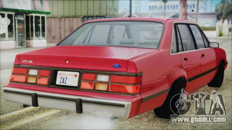 Ford LTD LX 1986 for GTA San Andreas left view
