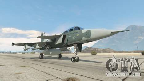 GTA 5 Saab JAS 39 Gripen NG FAB [Beta] sixth screenshot