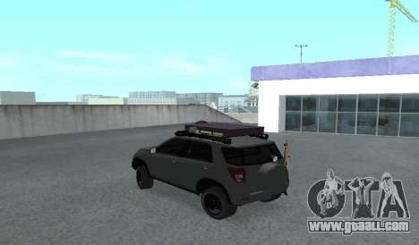 Toyota Terios 2009 OFF-ROAD MUD-TERRAIN for GTA San Andreas right view
