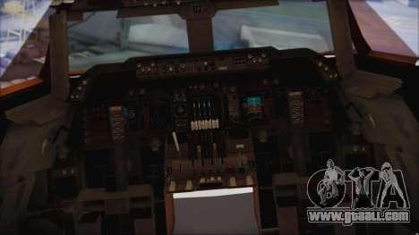 Boeing 747-237Bs Air India Rajendra Chola for GTA San Andreas right view