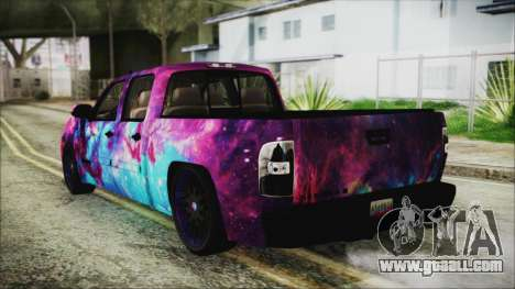 GMC Sierra Galaxy for GTA San Andreas left view