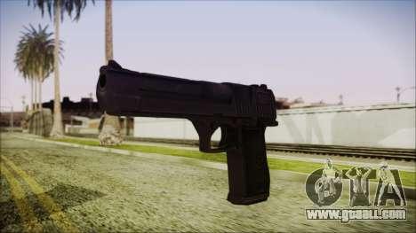 PayDay 2 Deagle for GTA San Andreas second screenshot