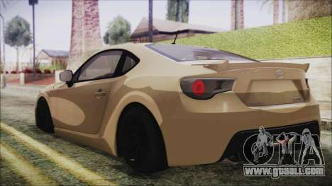 Toyota GT86 for GTA San Andreas left view